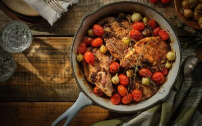 Pork Chops and Tomatoes